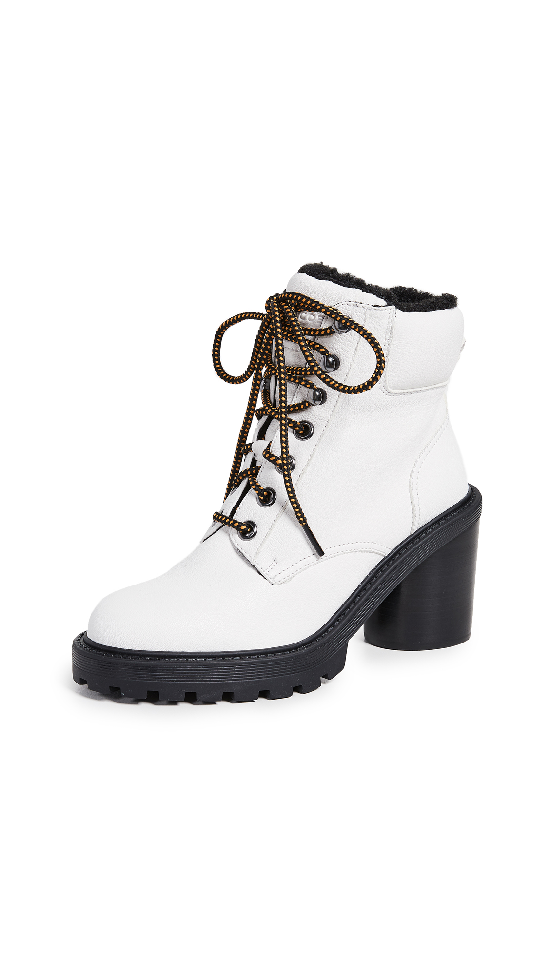 Marc Jacobs Crosby Hiking Boots - White