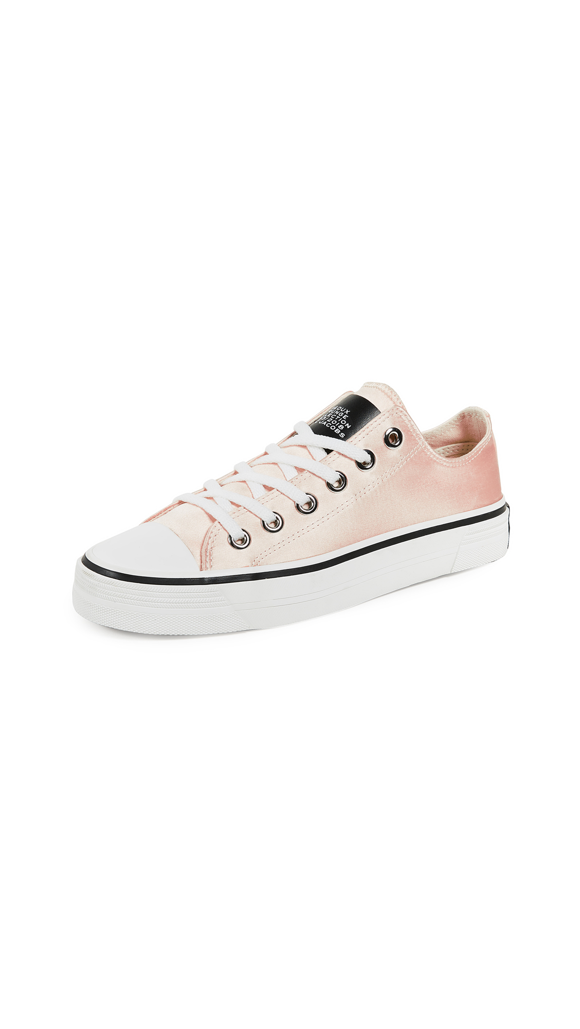 Marc Jacobs Grunge Low Top Sneakers - Peach
