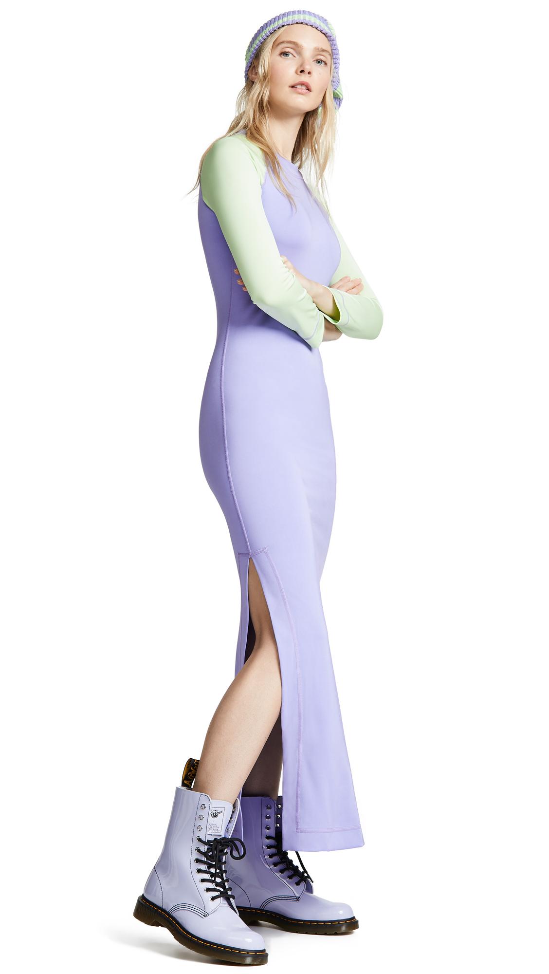 Marc Jacobs Redux Grunge Colorblock Dress - Lavender