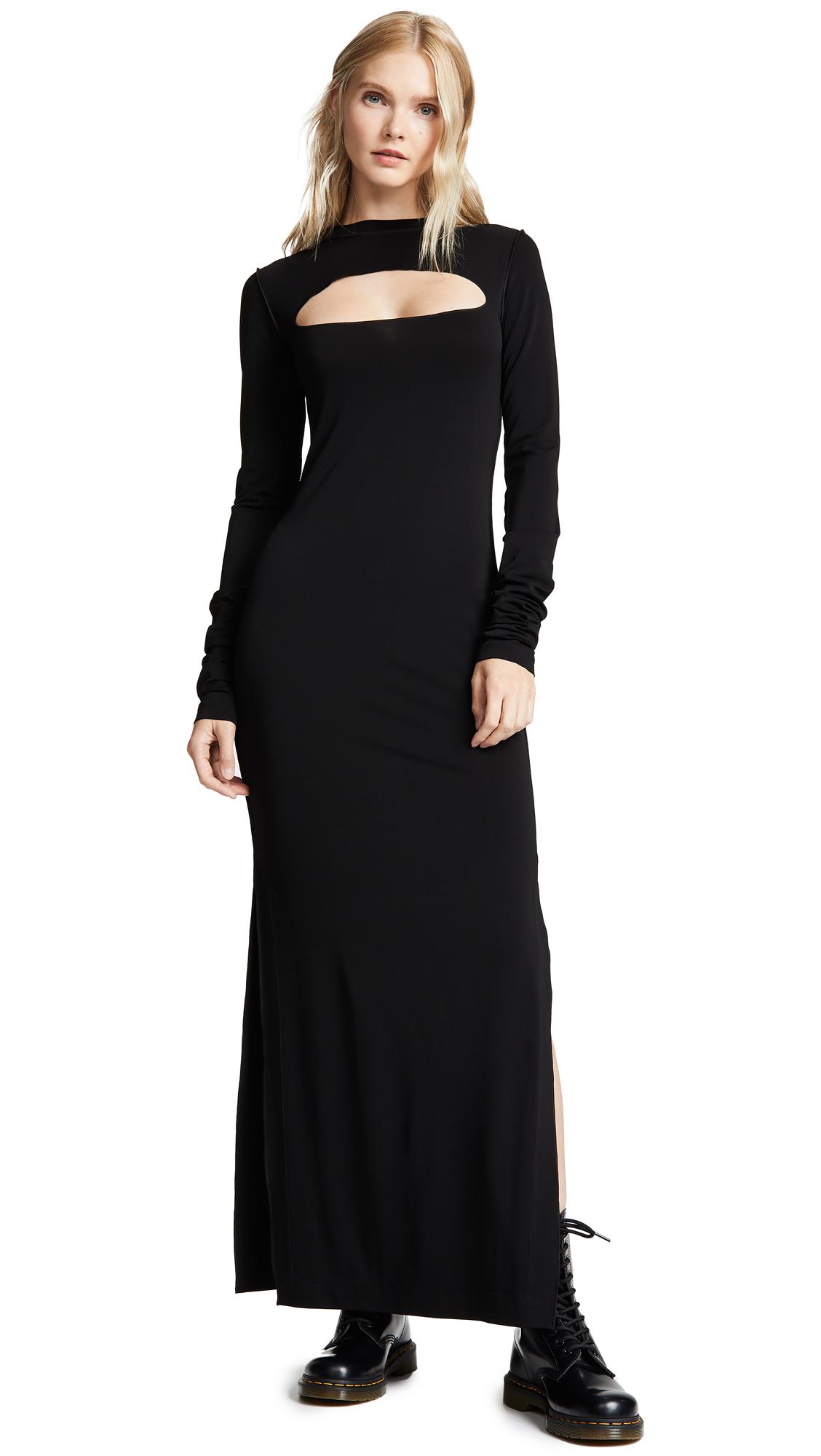 Marc Jacobs Redux Grunge Yoke Cutout Dress - Black