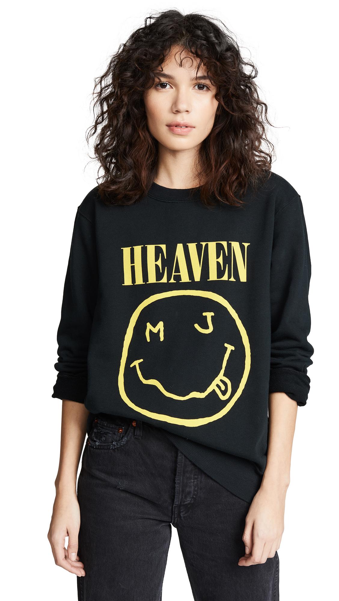Redux Grunge Bootleg Sweatshirt in Black