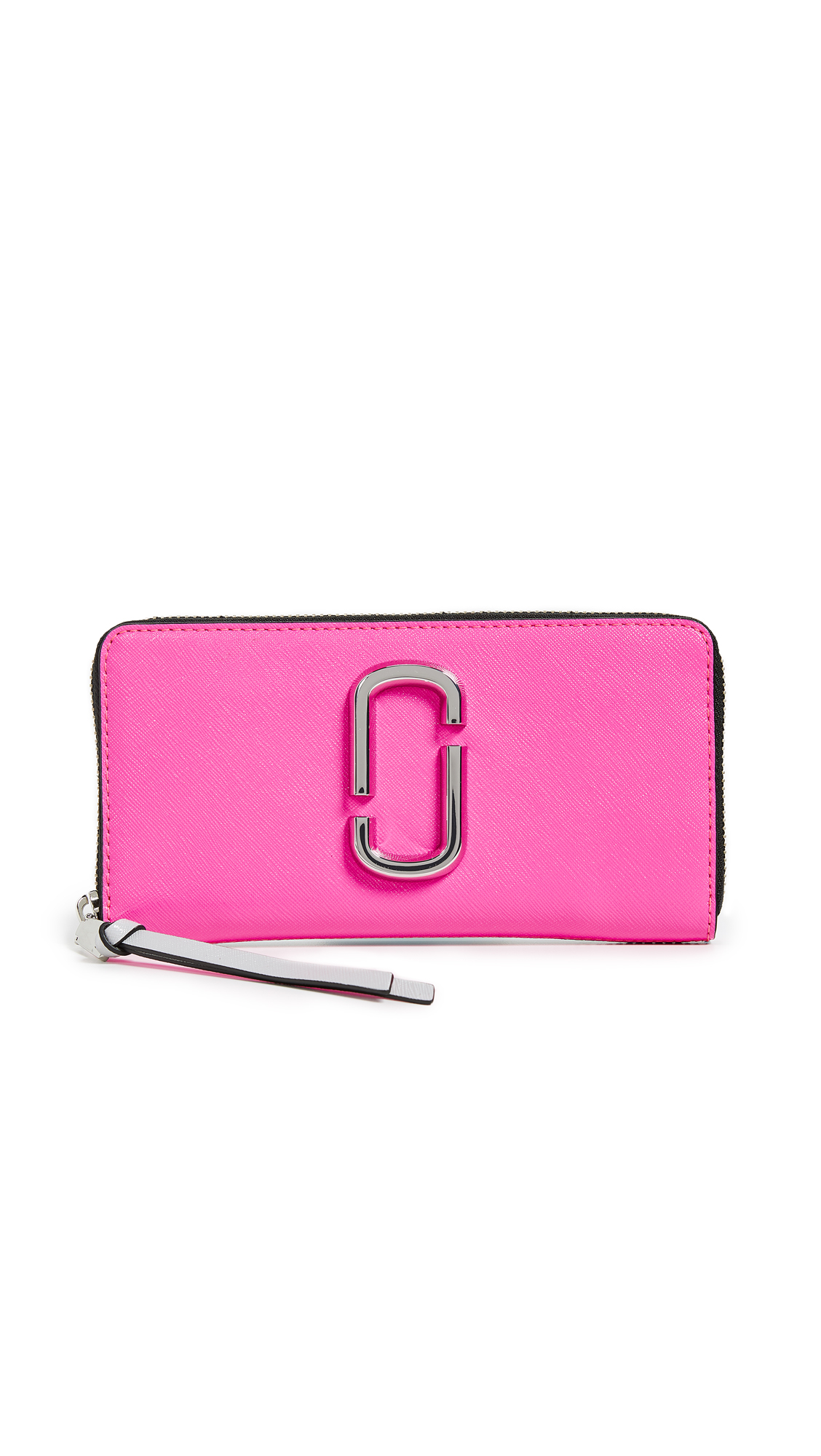 Marc Jacobs Snapshot Standard Continental Wallet - Bright Pink Multi