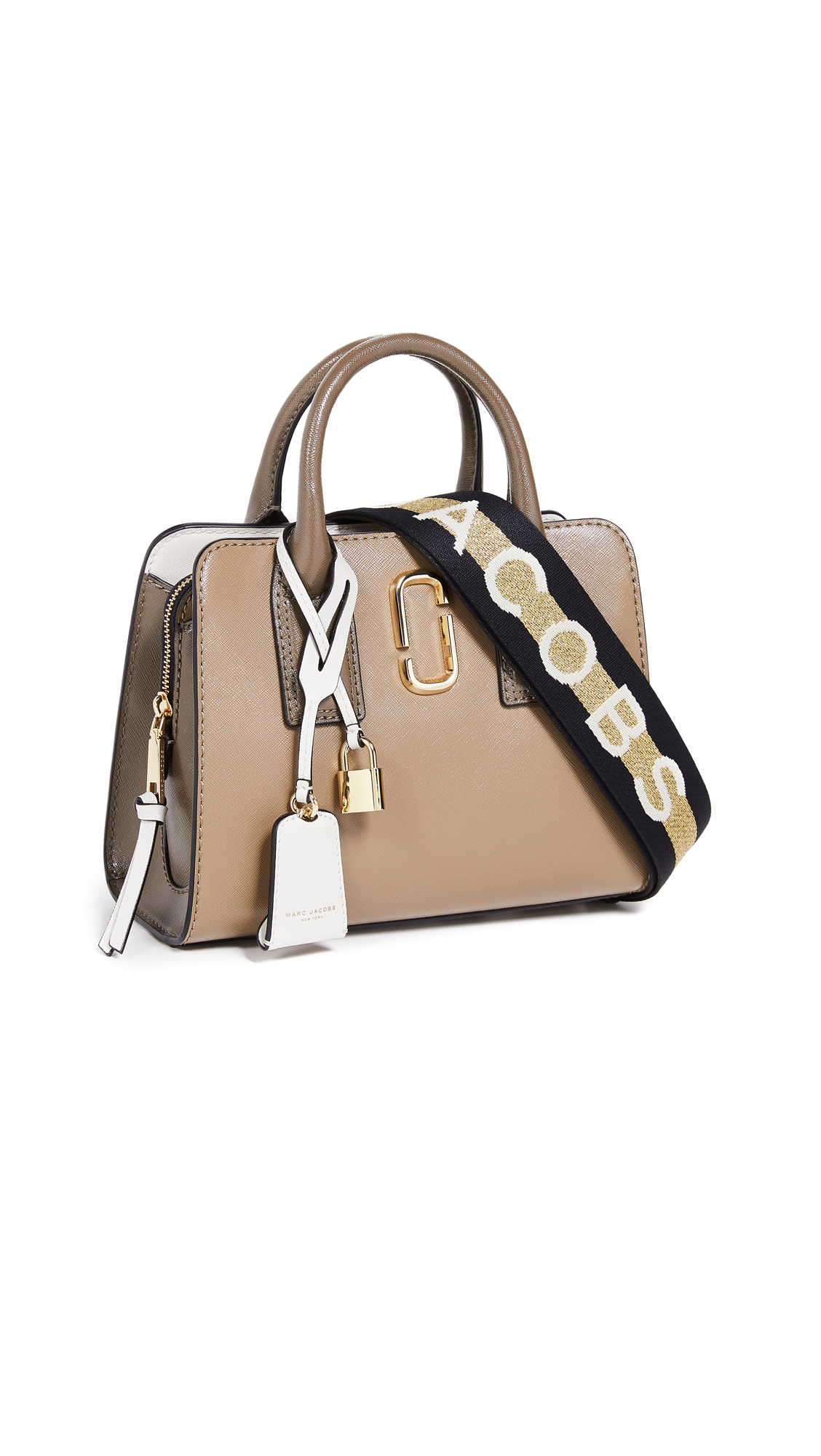 Marc Jacobs Little Big Shot Satchel - French Grey Multi