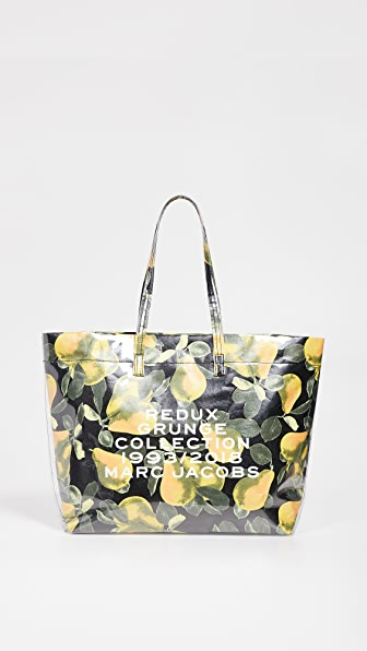 049f14b076d6 Marc Jacobs Redux Grunge East West Tote - Yellow In 794 Lemon ...