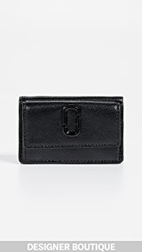 73764938fdb4 Marc Jacobs. Snapshot Mini Trifold Wallet