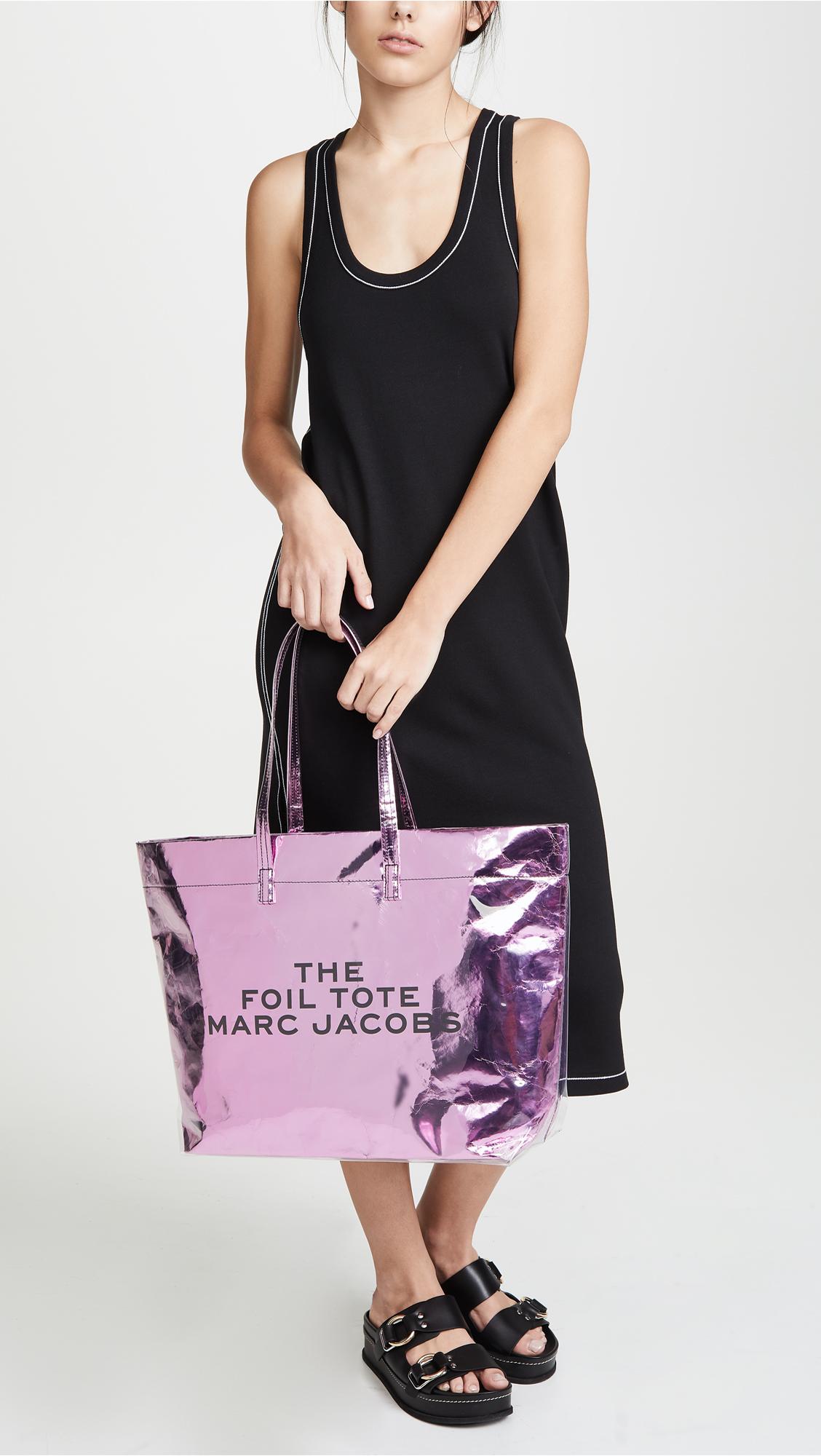 12c46b4a2930 Marc Jacobs The Foil Tote Bag