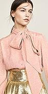 The Marc Jacobs 领口系带女式衬衫