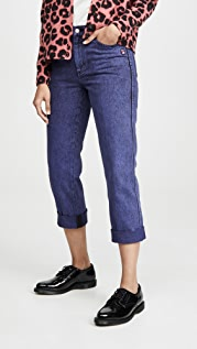 Marc Jacobs The Turn Up Jeans Overdye