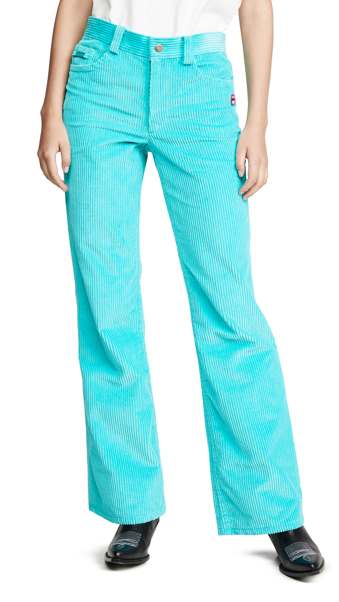 Buy The Marc Jacobs online - photo of The Marc Jacobs The Corduroy Flared Jeans