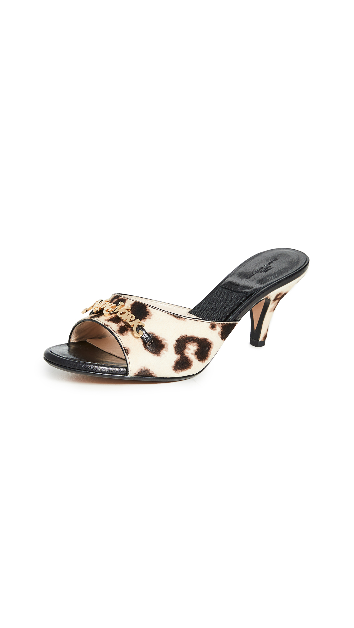 Buy The Marc Jacobs online - photo of The Marc Jacobs The Kitten Heel Mules