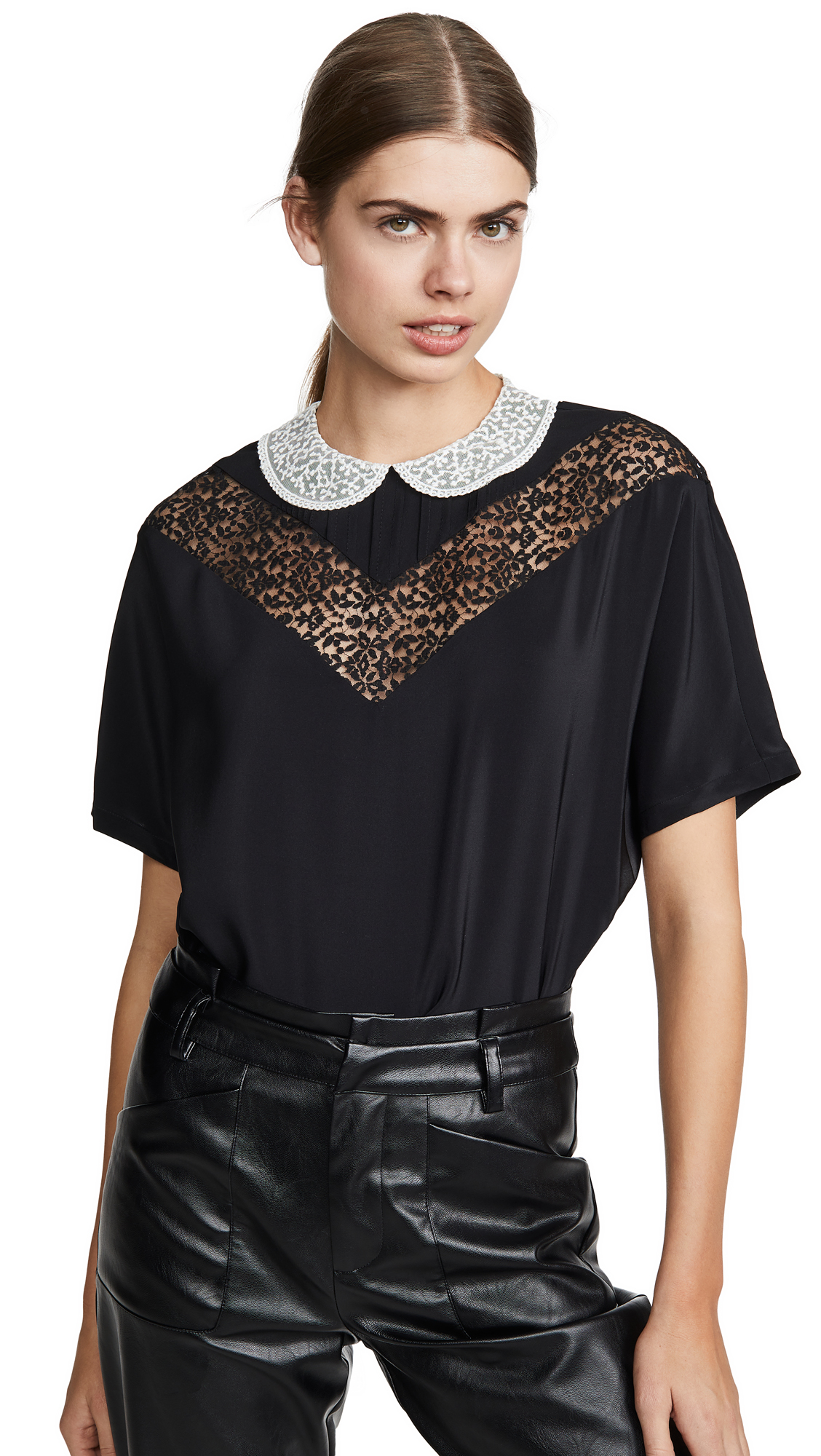 The Marc Jacobs The Lace Blouse – 60% Off Sale