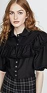 The Marc Jacobs 荷叶边女式衬衫