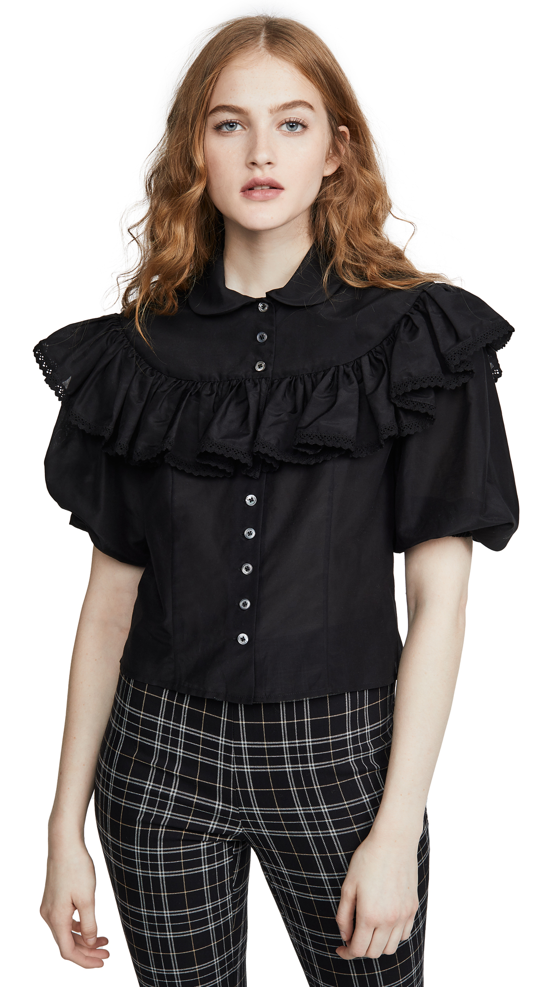 Buy The Marc Jacobs online - photo of The Marc Jacobs The Ruffle Blouse