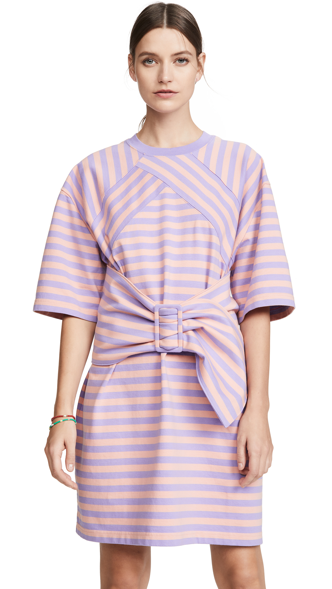 The Marc Jacobs The Striped T-Shirt Dress - 40% Off Sale