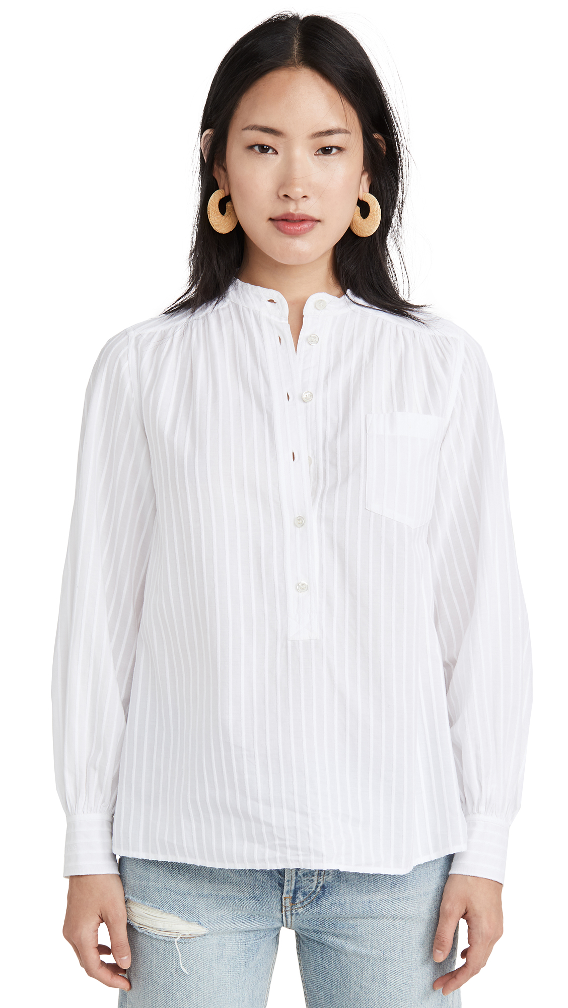 The Marc Jacobs Sofia Loves The Collarless Top - 30% Off Sale