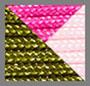 Green/Fuchsia/Light Pink