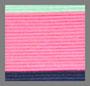 морская волна/неоновый розовый/голубой деним