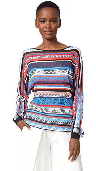 Mary Katrantzou Leon Sweater