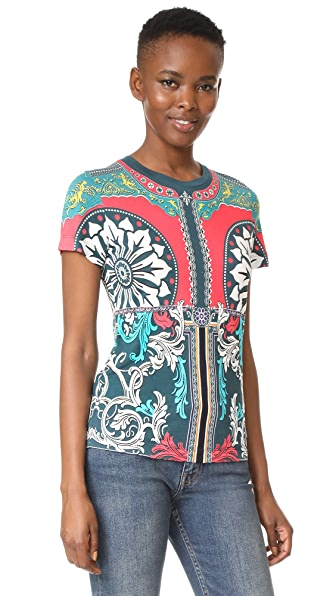 Mary Katrantzou Iven T-Shirt - Queens Teal