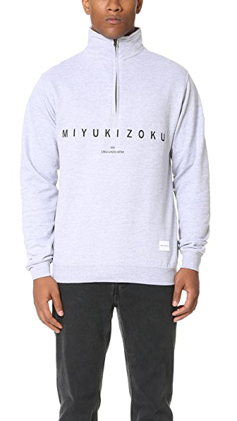 MKI Quarter Zip Sweatshirt