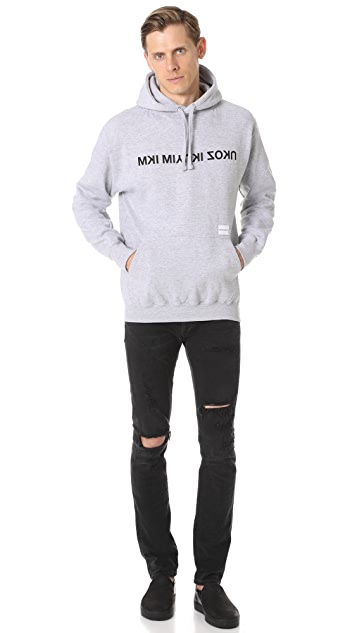 MKI Mixed Logo Hoodie
