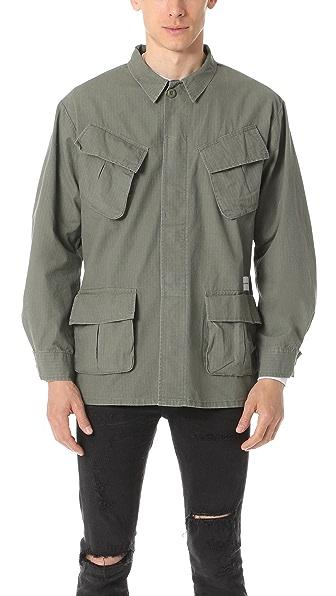 MKI Slanted Pocket Overshirt