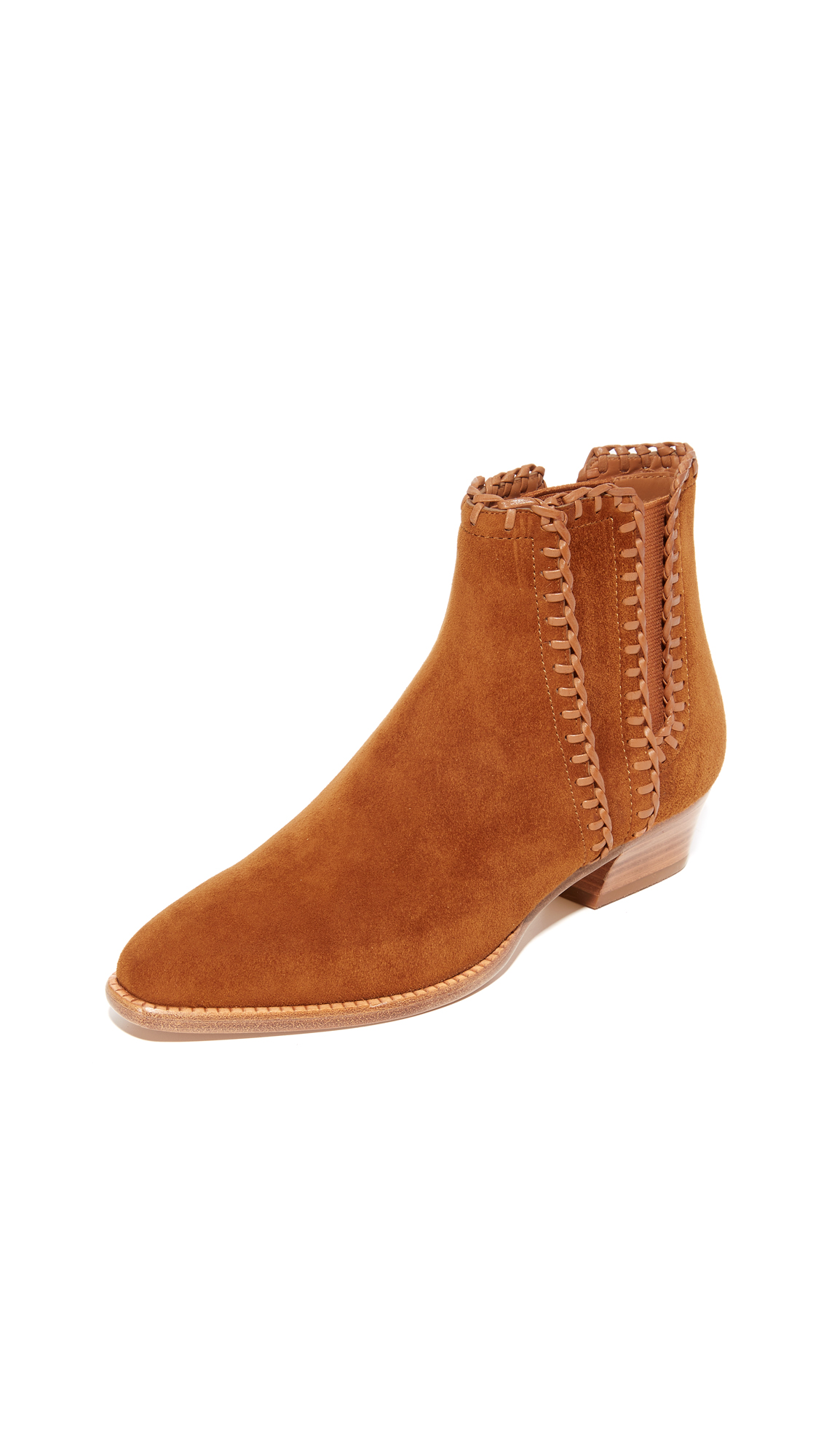 Michael Kors Collection Presley Flat Booties - Dk Luggage