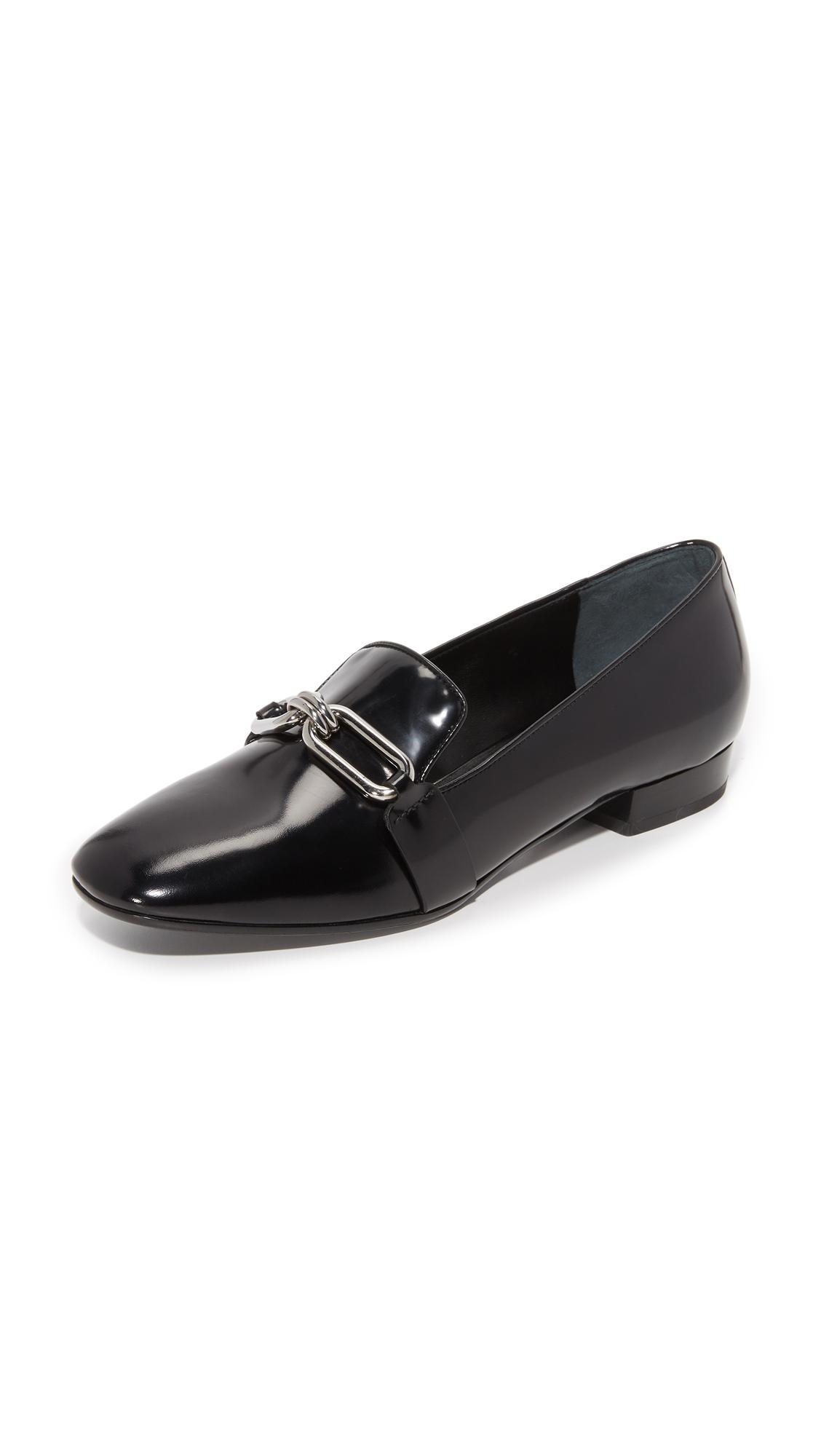 michael kors female 188971 michael kors collection lennox loafers black