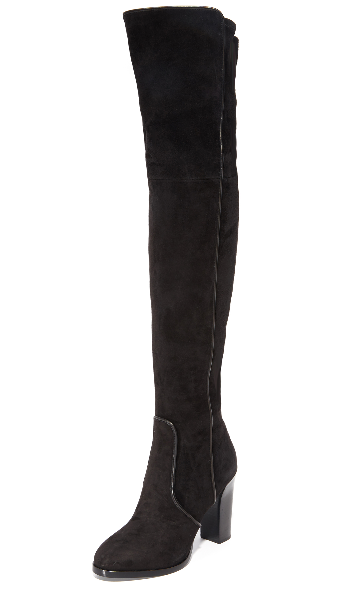 Michael Kors Collection Cutler Over The Knee Boots - Black