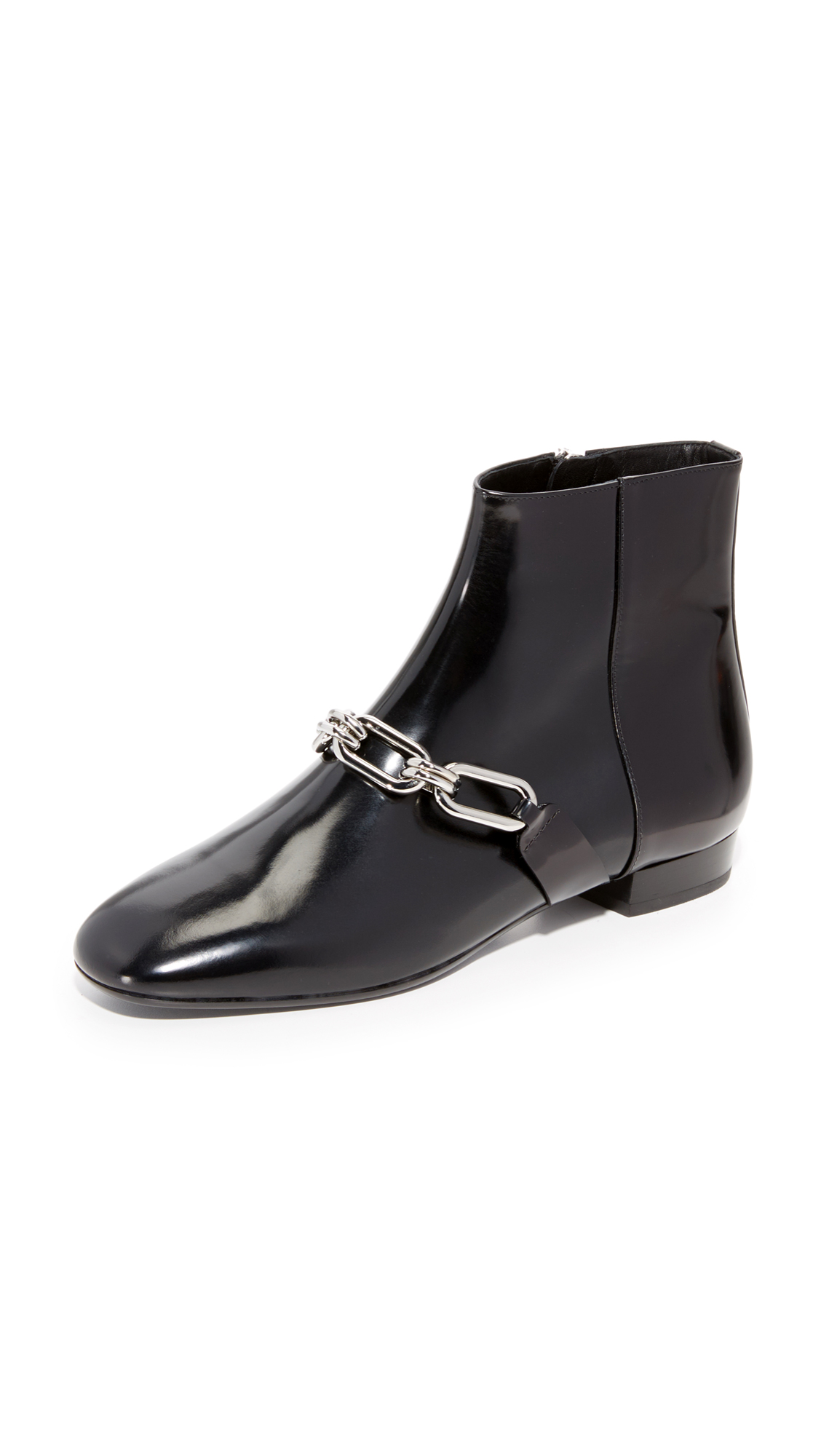 Michael Kors Collection Lennox Ankle Booties - Black