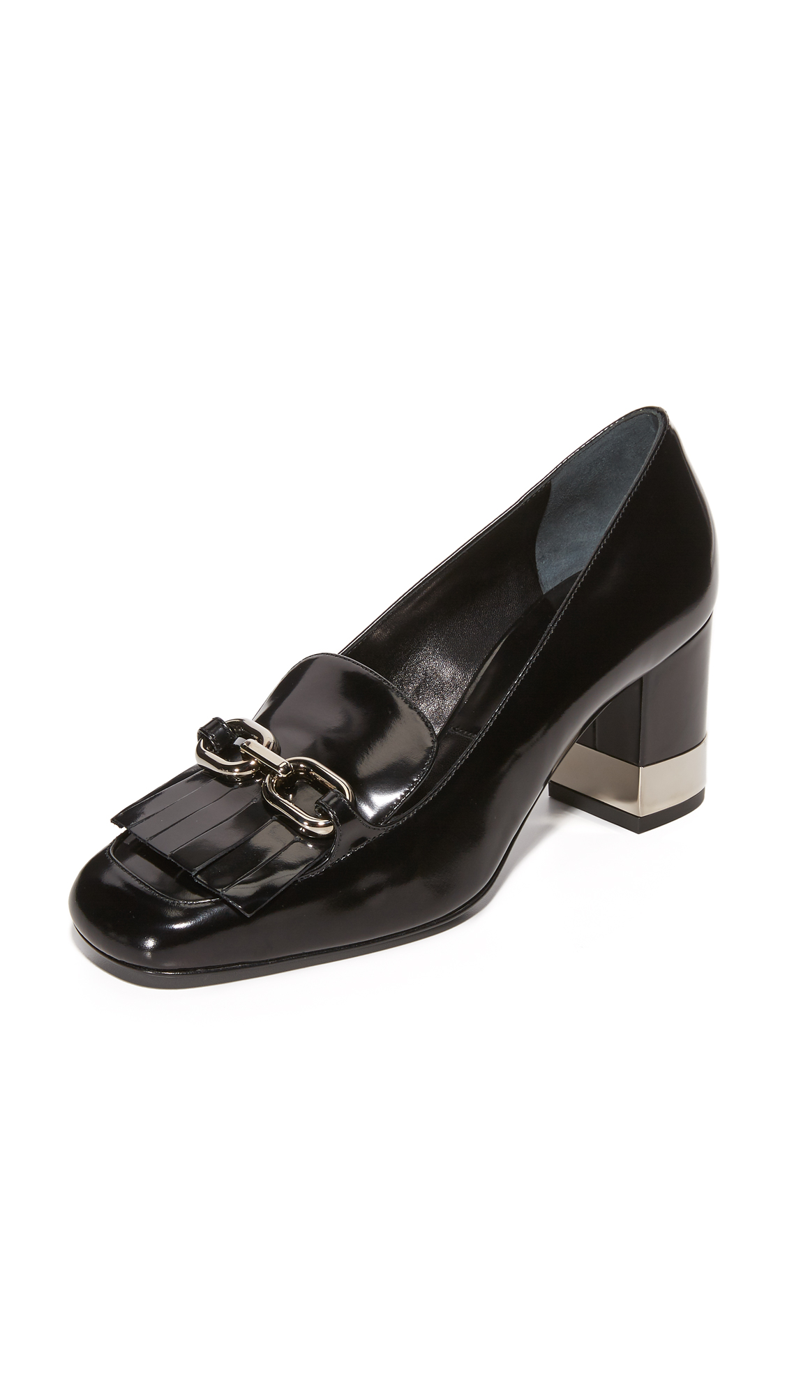 Photo of Michael Kors Collection Carrie Runway Pumps Black - Michael Kors Collection online