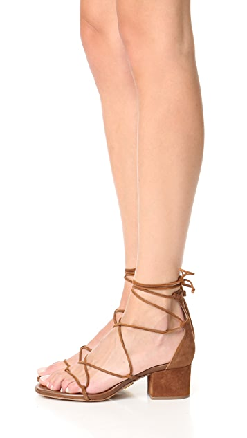 Michael Kors Collection Ayers Wrap City Sandals