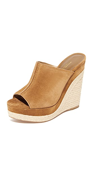 Michael Kors Collection Charlize Wedges - Luggage