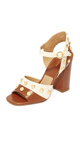 Michael Kors Collection Trista Grommet Sandals