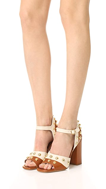 Michael Kors Collection Trista Grommet Sandals