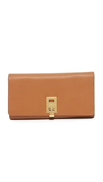 Michael Kors Collection Miranda Continental Wallet - Luggage
