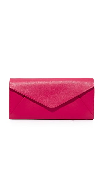 Michael Kors Collection Envelope Chain Wallet
