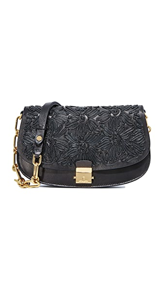 Michael Kors Collection Mia Small Shoulder Bag - Black