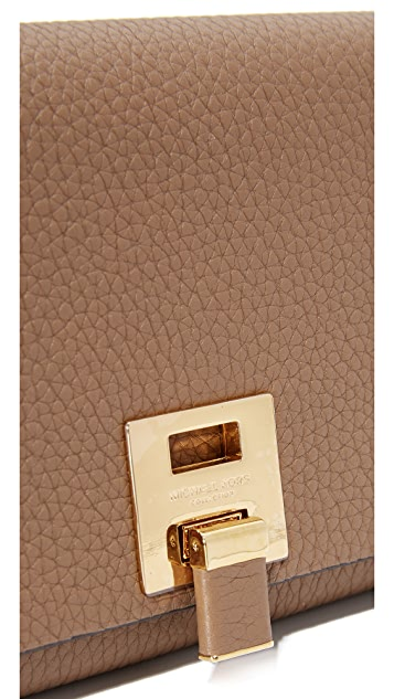 Michael Kors Collection Bancroft Continental Wallet