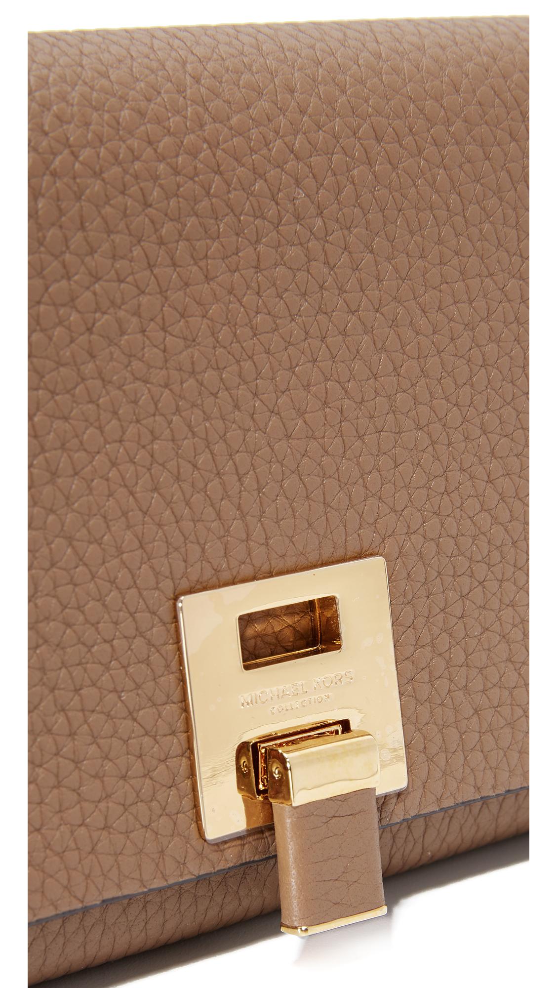 ddf87ae1fd7dd9 Michael Kors Collection Bancroft Continental Wallet | SHOPBOP