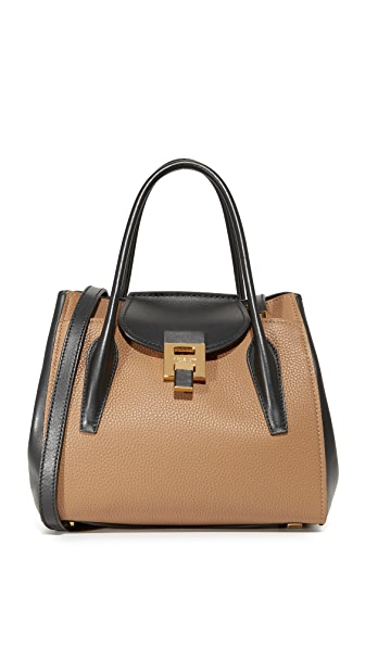 Michael Kors Collection Bancroft MD Tote - Desert/Black