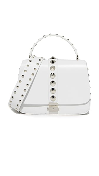 Michael Kors Collection Mia Shoulder Bag - Optic White