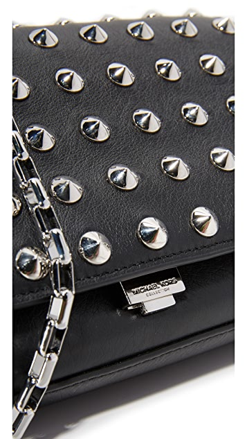Michael Kors Collection Yasmeen Stud Clutch