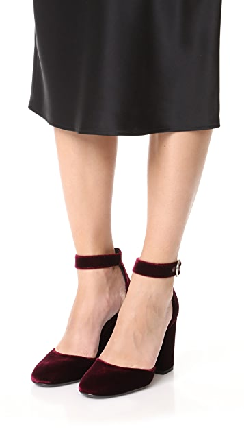 Michael Kors Collection Rena Ankle Strap Heels
