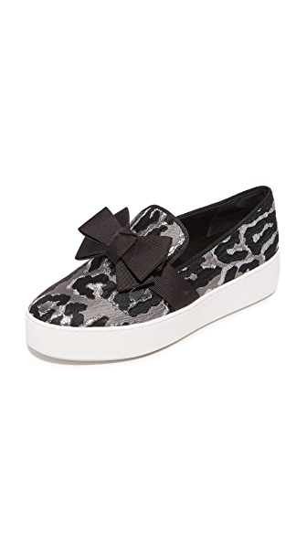 Michael Kors Collection Val Platform Slip On Sneakers at Shopbop