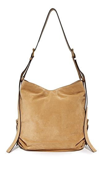 Michael Kors Collection Naomi Shoulder Bag In Chino