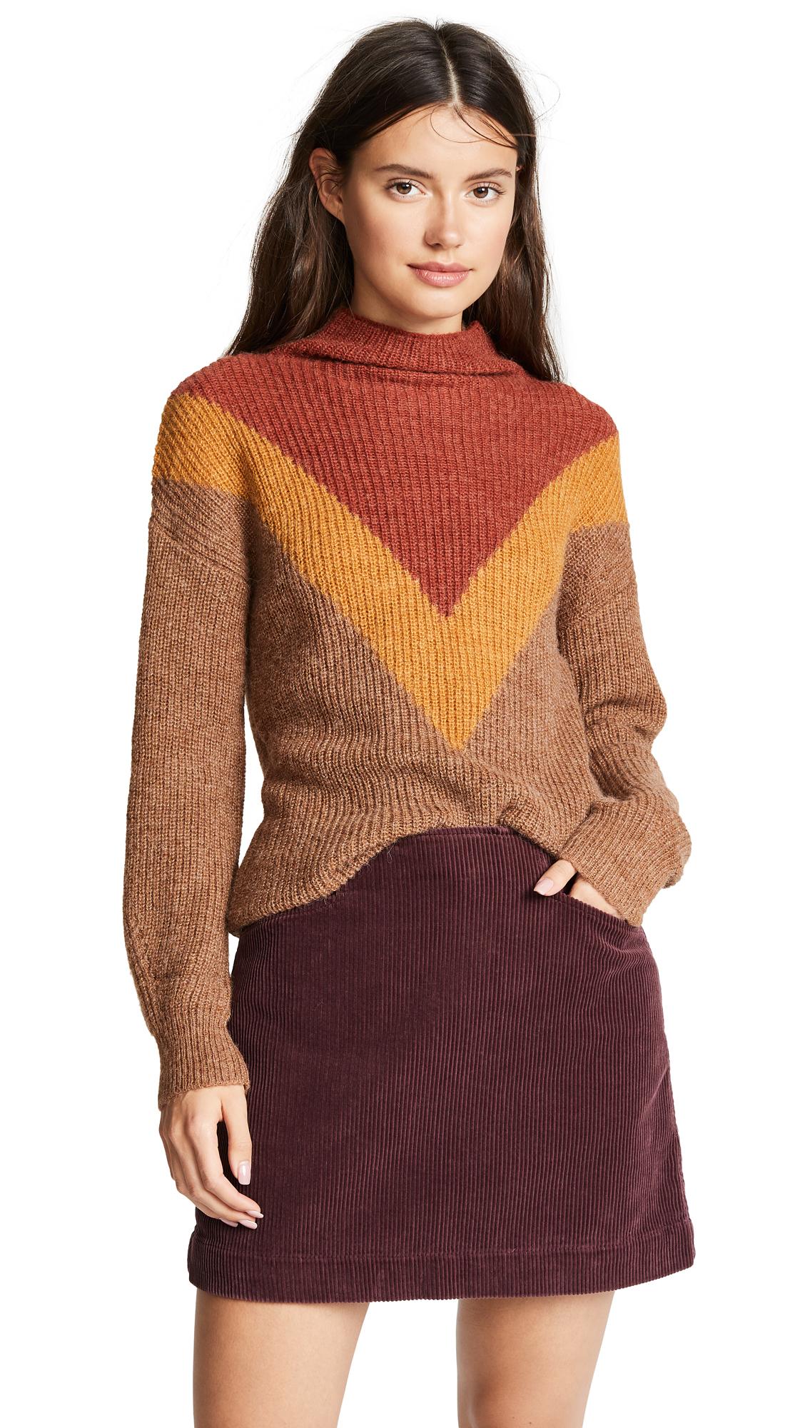 MKT STUDIO Kuroko Sweater in Nuts