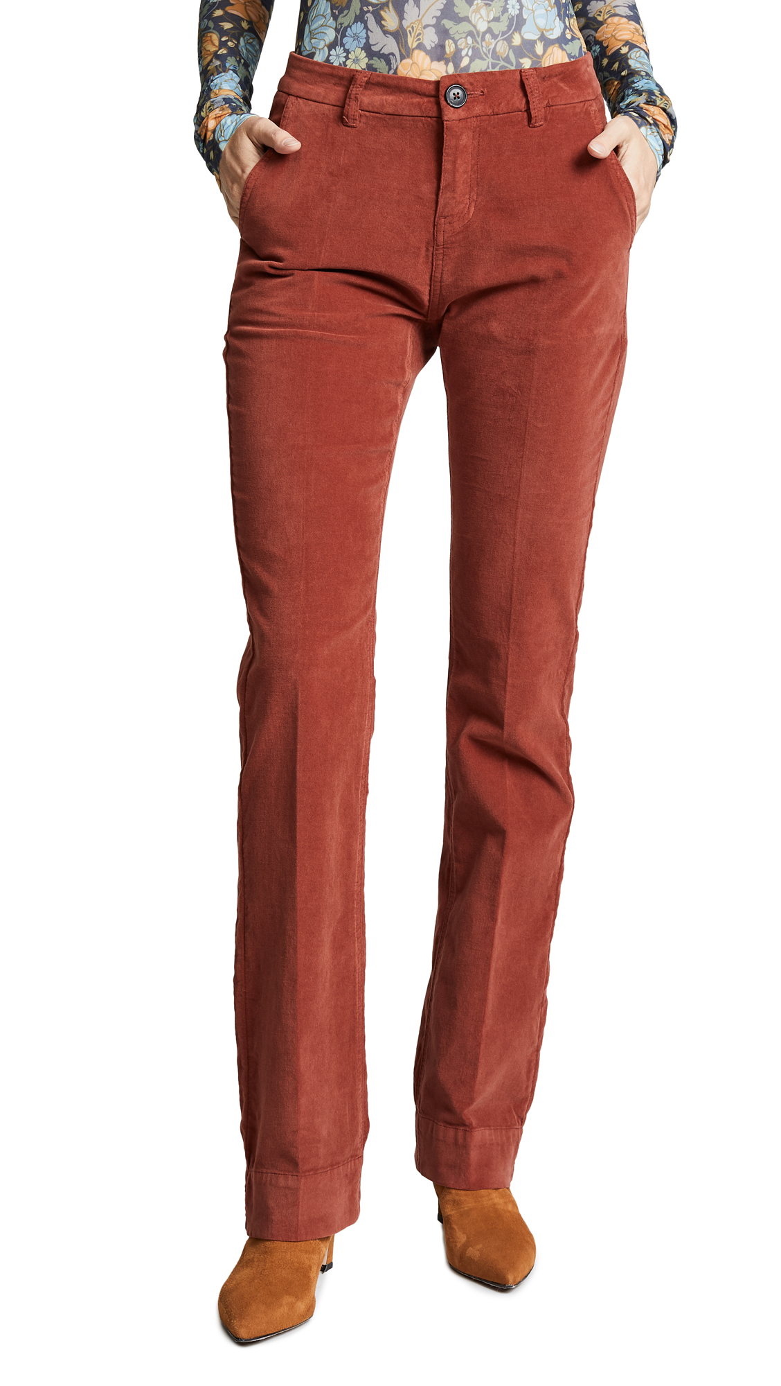 MKT Studio Plimo Pants In Rust