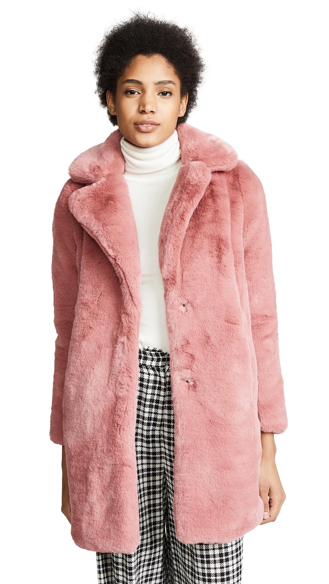 MKT Studio Marili Coat In Light Pink