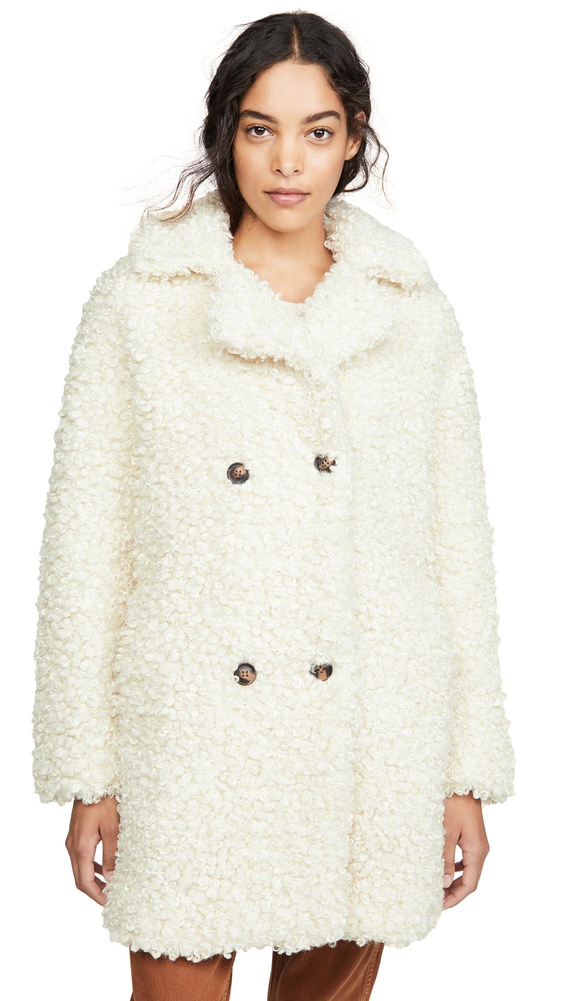 Buy MKT Studio online - photo of MKT Studio Midrix Teddy Coat
